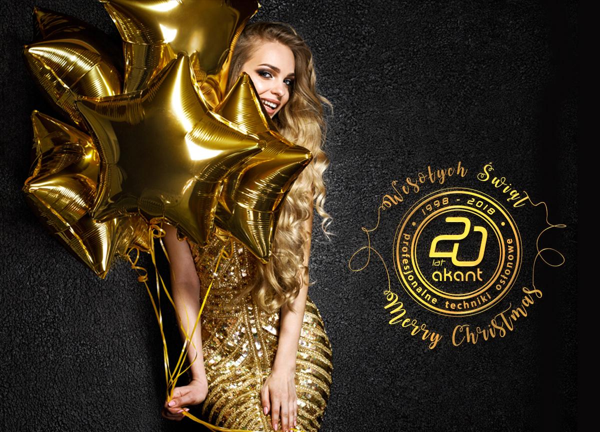 Wesołych Świąt i Szczęśliwego Nowego Roku od Salonu Akant Koszalin!