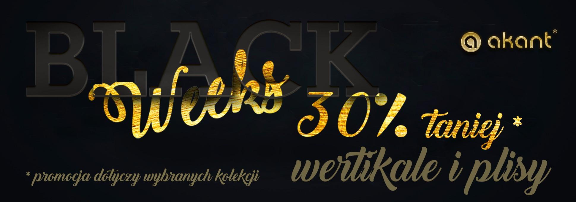 Black Weeks: wybrane produkty 30% taniej