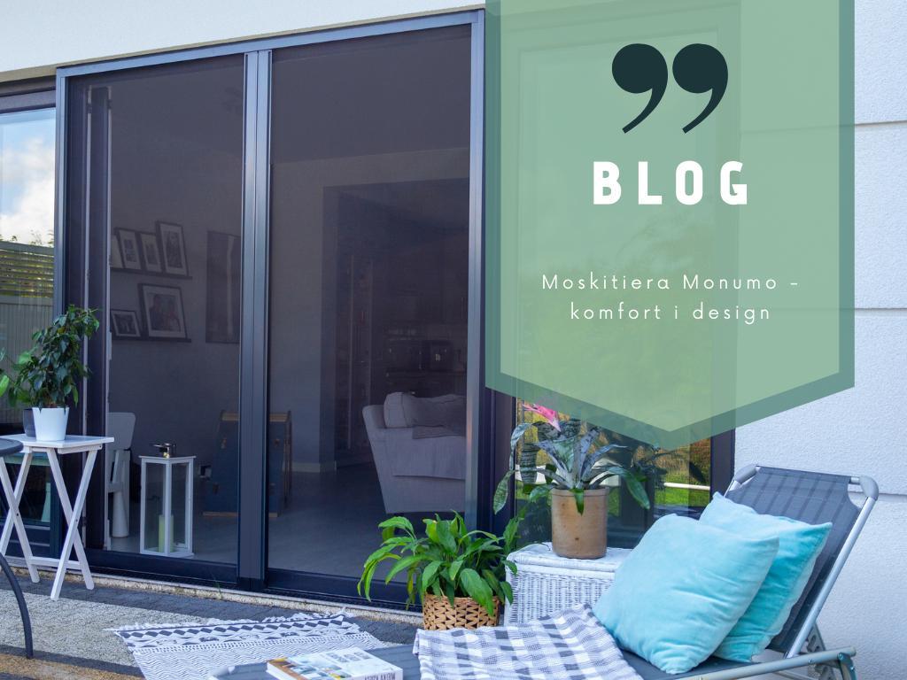 Moskitiera Monumo – komfort i design